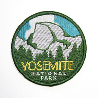 Official Yosemite National Park Souvenir Patch Half Dome California FREE Shipping Scrapbooking