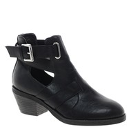 New Look Chase Cut Out Heeled Ankle Boots at asos.com