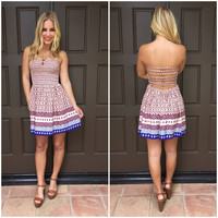 Summer Fun Strapless Dress
