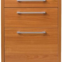 Tvilum Pierce Collection 3-Drawer Mobile File in Beech