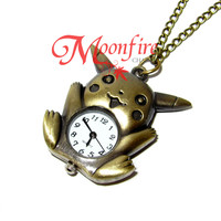 POKEMON Pikachu Pocket Watch Necklace