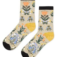 Floral Ankle Socks - New In This Week - New In