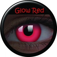 ColourVue Red Glow Coloured Contacts