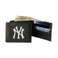 New York Yankees MLB Embroidered Billfold Wallet