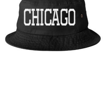 CHICAGO EMBROIDERY HAT - Bucket Hat