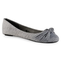 Charles Albert Knotted Ballet Flat