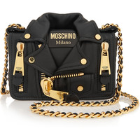 Moschino - Jacket leather shoulder bag