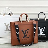 LV Louis Vuitton Women's Full Letter Shoulder Bag Messenger Bag