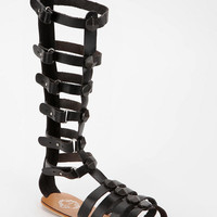 Ecote Tall Cone-Stud Caged Sandal