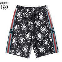 GUCCI Fashion New More Letter Star Print Shorts Black