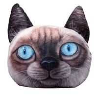 Birman Cat Face Cushion