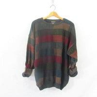 Vintage retro sweater. Bill Cosby sweater. Oversized sweater. XL