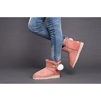 Fashion UGG LIMITED EDITION CLASSICS Boots Women Shoes 1017501 Pink