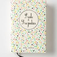 Mr. Boddington's Penguin Classics, Pride & Prejudice by Anthropologie Red Motif One Size Books