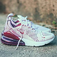 Nike Air Max 270 Tide brand casual sports running shoes