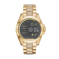 Michael Kors Access Goldtone Bradshaw Touchscreen Smartwatch, 45mm