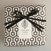 Pattern wrapping paper 10 set - hexagon