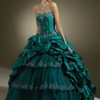 Ball Gown Jacket Ruching Layered Strapless Teal Green Quinceanera Dresses Prom Gowns Ball Gown Jacket Ruching Layered Strapless Teal Green Quinceanera Dresses Prom Gowns [RL-QD8020] - $220.00 : Roman Love Wholesale Custom Made Wedding Dresses Evening Dress