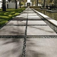 Porcelain stoneware outdoor floor tiles with concrete effect MEMORIES by CERAMICA SANT'AGOSTINO