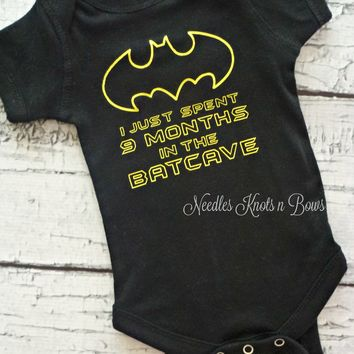 Baby Boys Batman Onesuit, Baby Boys Funny Onesuit, Batman Onesuit, Newborns, Baby Shower Gift