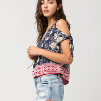 O'NEILL Lianne Womens Cold Shoulder Top | Blouses