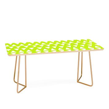 Leah Flores Pineapple Dreams Coffee Table