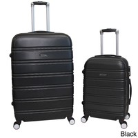 World Traveler Bristol 2-piece Lightweight Expandable Spinner Luggage Set   Overstock.com Shopping - The Best Deals on Two-piece Sets