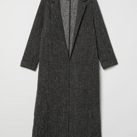 Long Coat - Gray - Ladies | H&M US