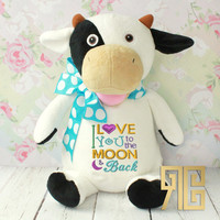 Personalized Royal Buddies Cow
