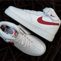 Nike Air Force 1 '07 Lv8 Suede 35anni Mid 315123 126 | Best Deal Online