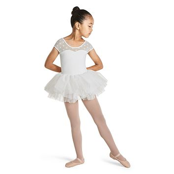 Cap Sleeve Tutu Leotard M1508C by Mirella