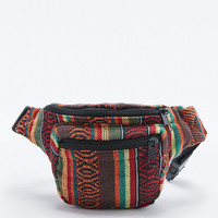 Tapestry Bum Bag in Orange - Urban Outfitters