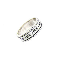 Do Re Mi For Life Sterling Silver Spin Ring