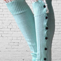 Cupshe As Your Way Button Socks