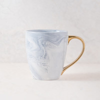 Marble White Coffee Mug