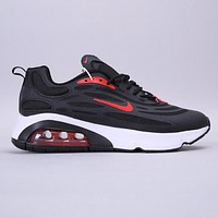 Nike Air Max 200 New Fashion Hook Running Shoes Black