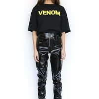 VENOM TEE - BLACK/YELLOW