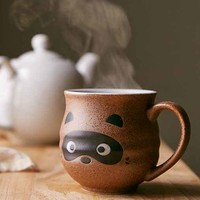 Raccoon Face Mug