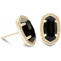 Kendra Scott Emery Earring Gold Black