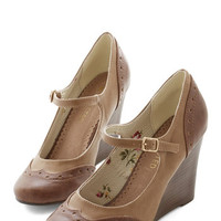 ModCloth Frolic by Foot Wedge