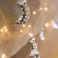 Crescent Moon String Lights | Urban Outfitters