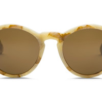 Electric - Reprise White Marble Sunglasses, OHM Bronze Lenses