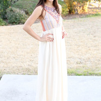Sunset Beach Maxi - Cream