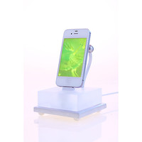 iPhone 5 lucite and aluminum dock beautifully by BurnerBoutique