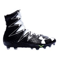 UNDER ARMOUR HIGHLIGHT LACROSSE CLEATS 2016 - BLACK/WHITE