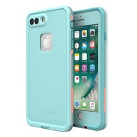 Lifeproof 77 56983 Fr¡§? Series Waterproof Case For Iphone 8 Plus & 7 Plus (only) Retail Packaging Wipeout (blue Tint/fusion Coral/mandalay Bay)