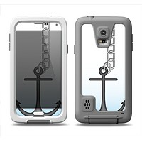 The Gray Chained Anchor Samsung Galaxy S5 LifeProof Fre Case Skin Set