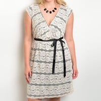 Lace Plus Size Dress