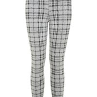 Petites Check Tube Trouser - Apparel - New In