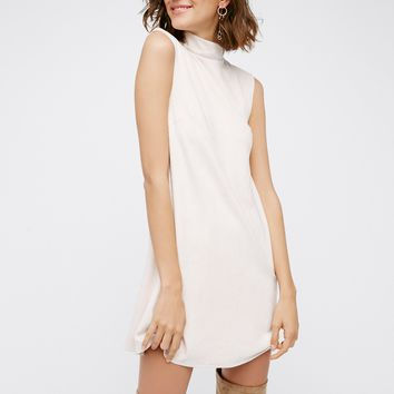 Free People Northern Faux Suede Dress